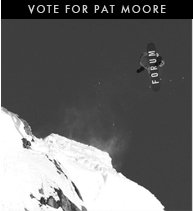 Vote for Pat Moore