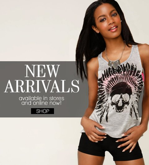 $5 Flat Rate Shipping! No Minimum Purchase. Shop New Graphic Prints In-Stores and Online.