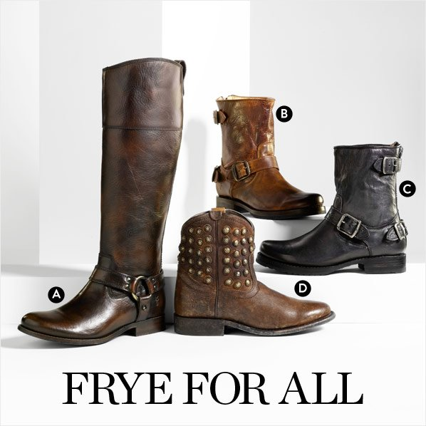 BOOTS BY FRYE