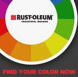 RUST-OLEUM® INDUSTRIAL BRANDS - FIND YOUR COLOR NOW