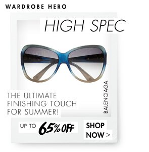 SUNGLASSES UP TO 65% OFF