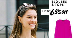 SILK BLOUSES UP TO 65% OFF