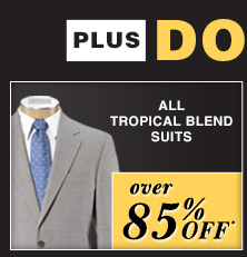 over 85% OFF* - Tropical Blend Suits