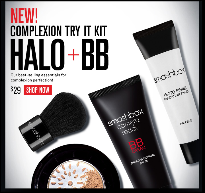 New! Complexion Try It Kit Halo + BB