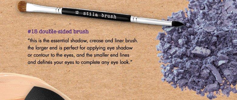 #15 double sided brush