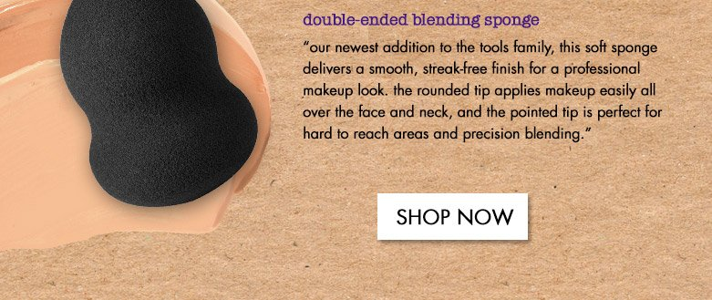 double-ended blending sponge