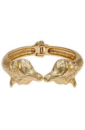 Click to Shop The Foxy Bangle in Gold