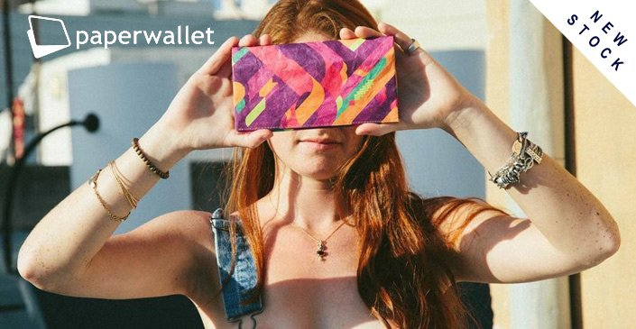 New Paper Wallet Stock. Click to check it out.