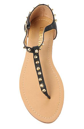 Click to Shop Studded Stefi Sandal in Black