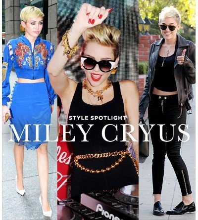 Get Miley Cyrus' Cool '90s Style--Buzzed Hair Not Included!