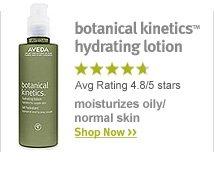 botanical kinetics hydrating lotion. shop now.