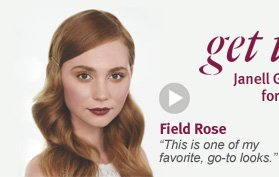 get the look. field rose.