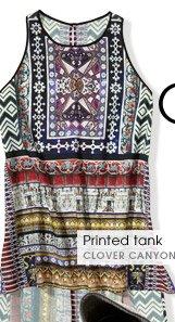 Printed tank