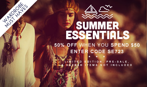 Click to shop this Summer's Essentials.