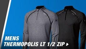 Shop Mens Thermopolis LT 1/2 ZIP - Promo C