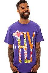 The Viva La Tropics Tee in Purple