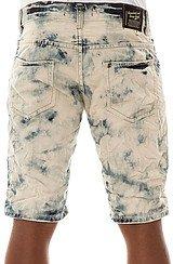 The Acid Wash Denim Shorts in Blue