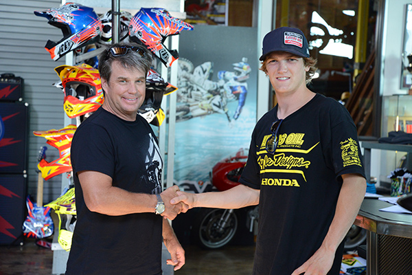 Troy Lee and Jessy Nelson