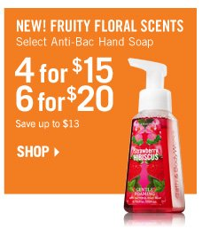 Anti-Bac Hand Soaps - 4 for $15