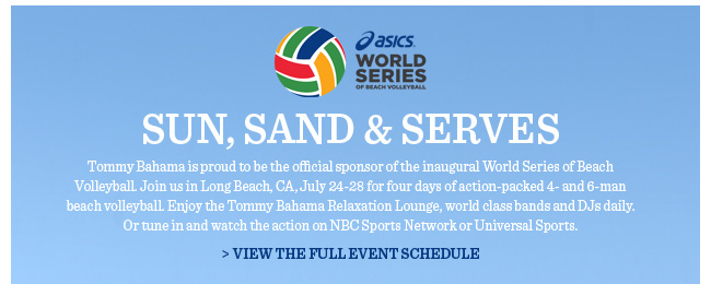 View The Full Event Schedule