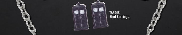 TARDIS STUD EARRINGS