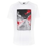 White Northern Streets Print T-Shirt