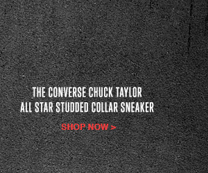 THE CONVERSE CHUCK TAYLOR ALL STAR STUDDED SNEAKER | SHOP NOW