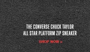 THE CONVERSE CHUCK TAYLOR ALL STAR PLATFORM SNEAKER | SHOP NOW
