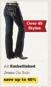 All Embellished Jeans on Sale