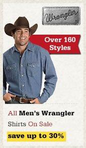 All Mens Wrangler Shirts on Sale
