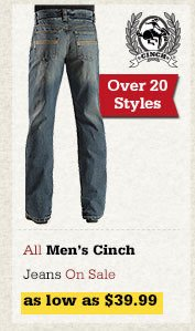 All Mens Cinch Jeans on Sale