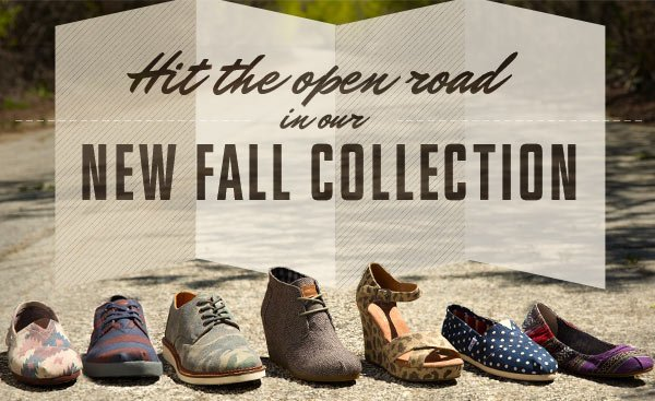 Hit the open road in our new Fall Collection