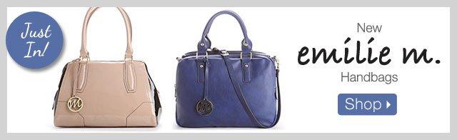 New emilie m. Handbags