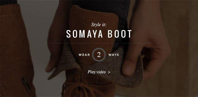 Style it: SOMAYA BOOT - Play Video