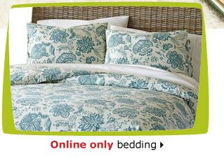 Online only bedding