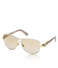 Carrie Gold Sunglasses