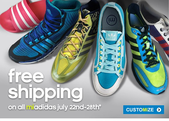 Create your own adidas »