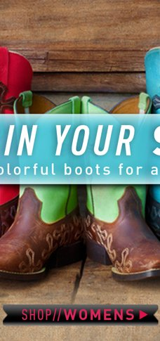 COLORFUL BOOTS FOR ALL
