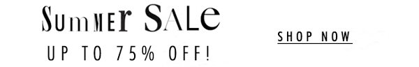 Shop Sale up to 75% Off!