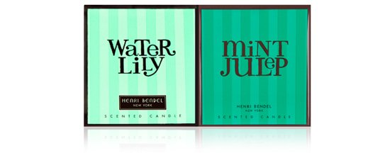 WATER LILY & MINT JULEP CANDLE COCKTAIL