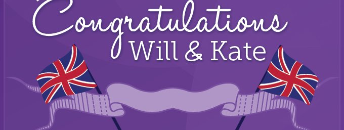 Congrautlations Will and Kate