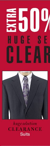 Extra 50% OFF - Clearance Suits