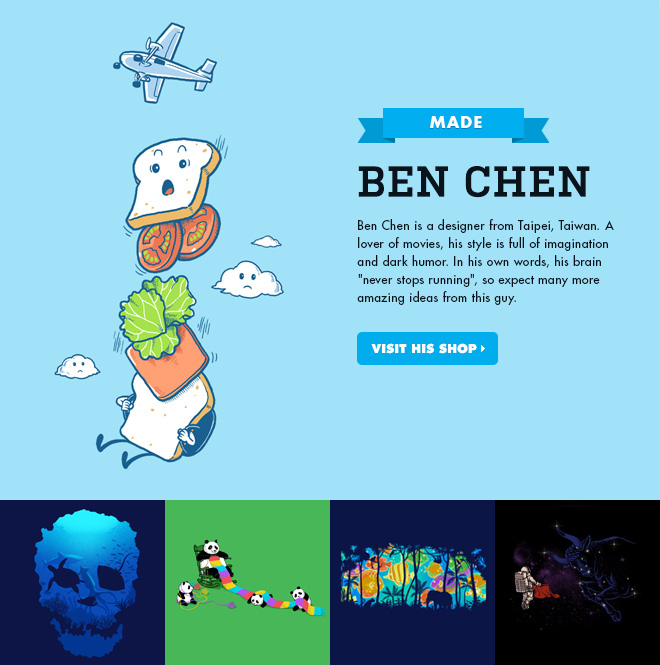 MADE - Ben Chen - Visit his shop