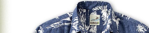 Wear the original. Founded in 1936, Kahala has been credited as being the first company in Honolulu to produce and export authentic Aloha shirts.