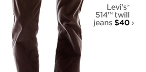 Levi's 514™ twill jeans $40›