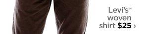 Levi's® woven shirt $25›