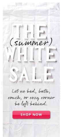 The Summer White Sale