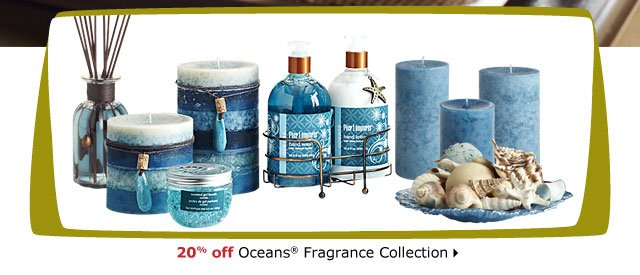 20% off Oceans® Fragrance Collection