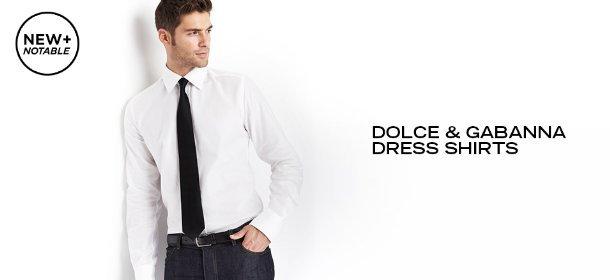 DOLCE & GABANNA DRESS SHIRTS, Event Ends July 27, 9:00 AM PT >