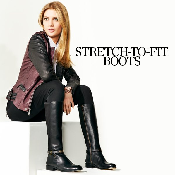 STRETCH-TO-FIT BOOTS